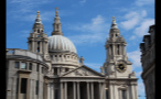 Tall Towers and Dome of St. Pauls Cathedral