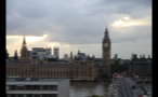 Clouds Over Palace of Westminster in London