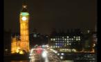 Big Ben Lit Up at Night