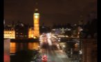 Westminster Bridge and London Cityscape at Night Time