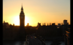 Sun Setting Behind Big Ben