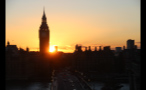 Gorgeous Sunset Behind Big Ben