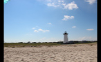 Edgartown Lighthouse and Beach in Marthas Vineyard