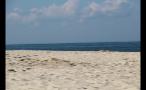 Sand and Ocean View on Beach in Marthas Vineyard