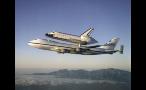 Space Shuttle Landing on Plane