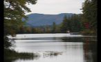 Mountains and Lake in New England