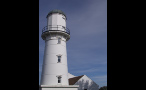 Tall Cape Elizabeth Light in Maine