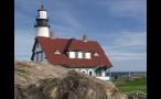 Portland Head Lighthouse on Maine Coast