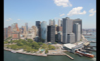 Buildings and Port in Downtown Manhattan