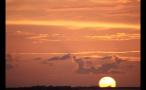 Orange and Yellow Sky During Island Sunset