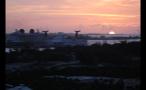 Cruise Ships at Sunset