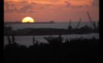Island Landscape at Sunset