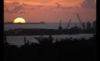 Island Landscape at Sundown