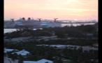 Cruise Ships During Island Sundown