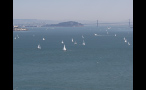 Sailboats in San Francisco Bay