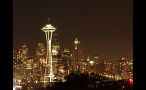 Seattle City Lights at Night