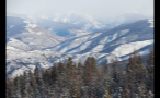 Wintery Wilderness Near Vail