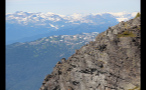 Jagged Whistler Mountainside