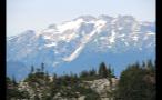 Blown Out Snowy Mountain