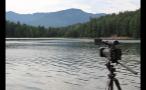 Camera Filming Lake