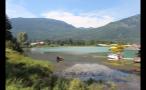 Seaplane By Mountainous Landscape 2
