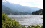 Whistler Lake Around Mountainous Forest
