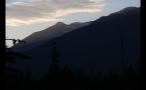 Sundown Whistler Mountains