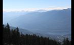 Misty Morning Whistler Mountains