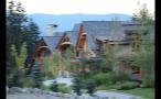 Homes In Mountain Range