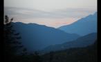 Beautiful Haze Around Natural Mountain Landscape