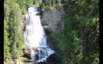 Rushing Whistler Waterfall