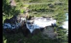 Vertical Canada Waterfall