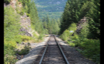 Train Tracks Through Whistler