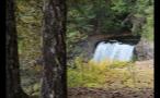 Hidden Waterfall In Canada