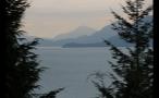 Scenic Mountains Across Sea