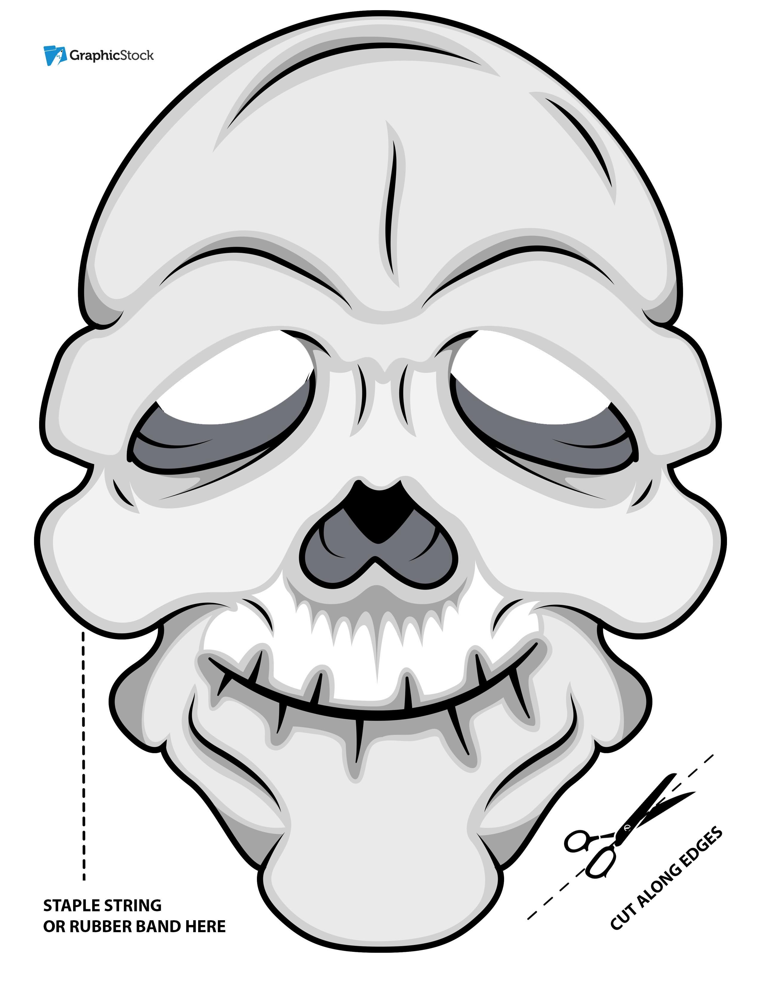 printable halloween masks from stock graphics storyblocks blog