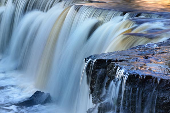 Pantone Organic Color Trends Waterfall