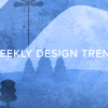 Trending This Week: Geometric Illustrations and Grunge Textures