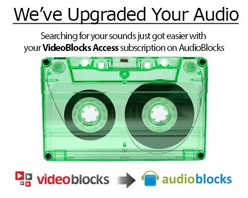 Congrats on activating your AudioBlocks account!