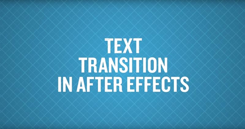 How to Make After Effects Text Transitions with a Card Wipe Effect