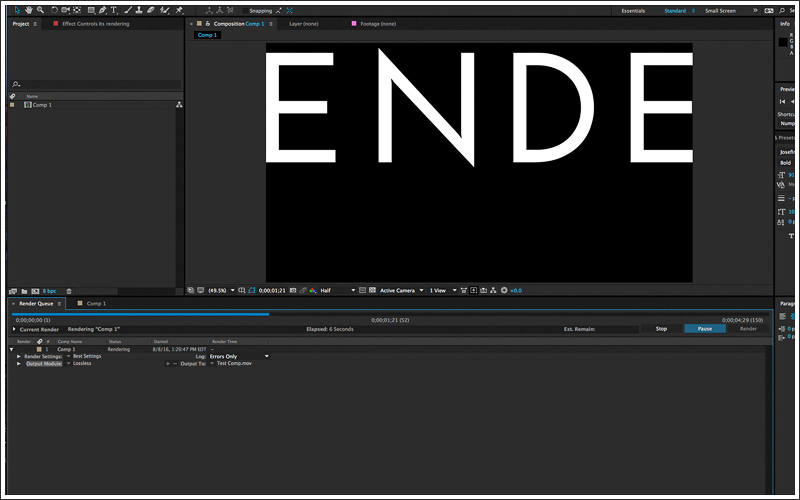 After Effects Beginners Guide Essential Tools