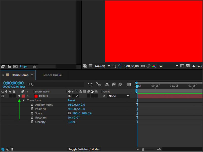 After Effects Beginners Guide - Effects and Animations