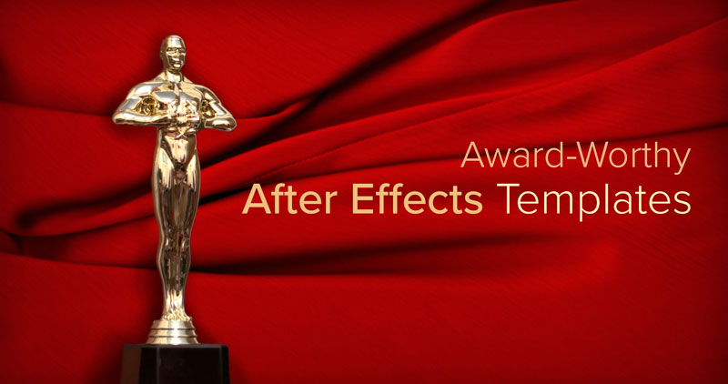 Roll Out The Red Carpet—After Effects Templates Inspired By 2017'S