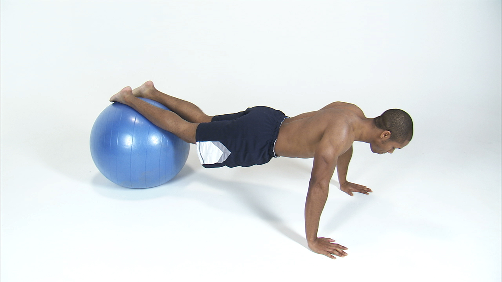 black man does push ups with exercise ball unlimited free stock photos royalty free images. Black Bedroom Furniture Sets. Home Design Ideas