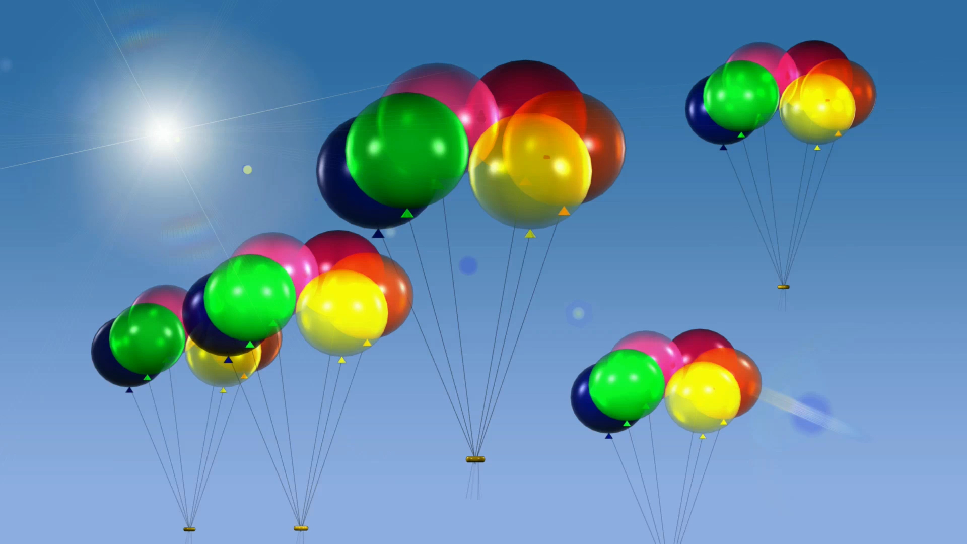 Своими, гифы воздушные шары день рождения