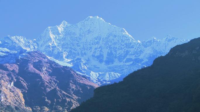 Himalayan Peak in Nepal 2
