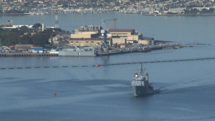 San Diego Harbor Ship