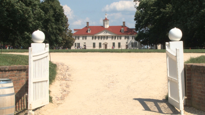 Entrance gate to Mount Vernon