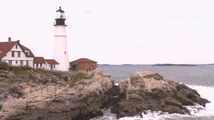 Portland Head Light lighthouse in Maine 6