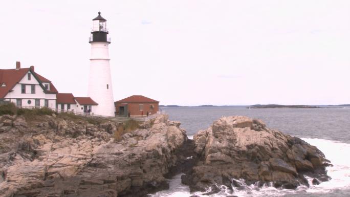 Portland Head Light lighthouse in Maine 7